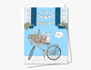 Flower Bicycle | 2020 Collection
