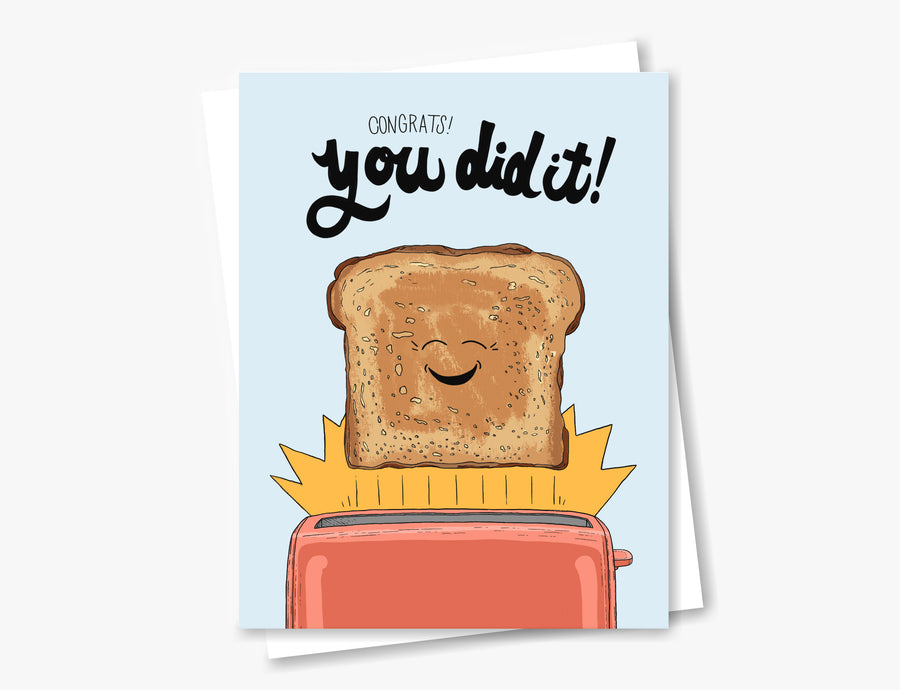 You Did It Toast | 2020 Collection
