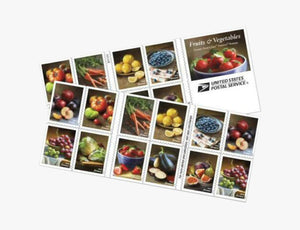 Forever Stamps | Fruits and Vegetables