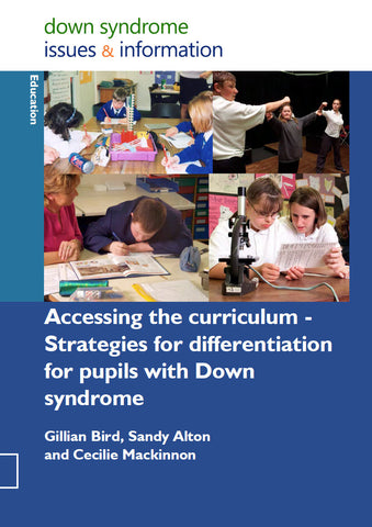 Accessing the Curriculum - Strategies for Differentiation for Pupils with Down Syndrome - PDF Ebook