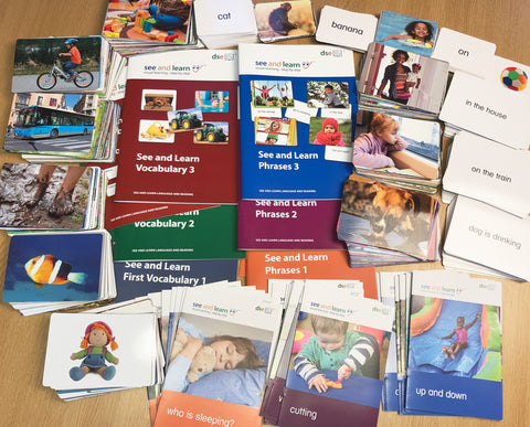 See and Learn Language and Reading Kits Bundle