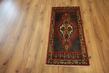 Load image into Gallery viewer, Geometric Authentic Oushak Turkish Area Rug, One of a Kind