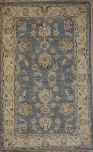 Super Oriental Wool Rug 3x5  One of a Kind