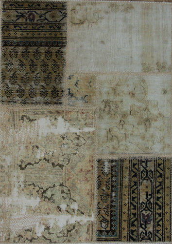 One of a Kind, Patchwork Oriental Rug