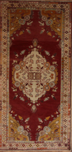 Geometric Anatolian Turkish Area Rug 5 x 7 One of a Kind