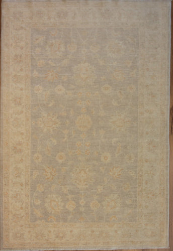 Floral Oushak Chobi Oriental Area Rug 5 x 7 One of a Kind
