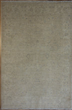 Load image into Gallery viewer, Muted  Distressed Oriental Area Rug 5 x 7 One of a Kind