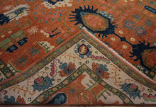 Load image into Gallery viewer, Vegetable Dye Ziegler Oriental Area Rug 8x10 One of a Kind