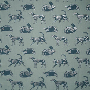 Animal Magic Blue and Glitter Fabric