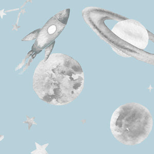 Planets Sky Wallpaper Swatch - Maison Margot