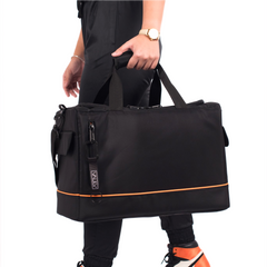 VAULV Duffle 015 (Black-Orange)