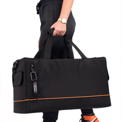 VAULV Duffle 022 (Black-Orange)
