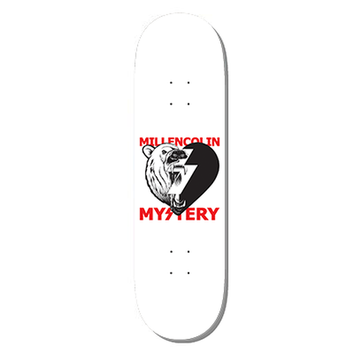 MILLINCOLIN POLAR HEART SERIES WHITE DECK