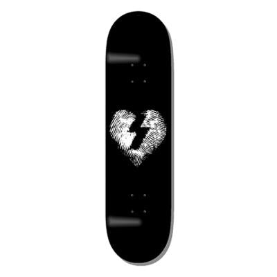 MYSTERY FINGER PRINT WHITE ON BLACK DECK