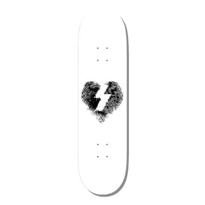 MYSTERY FINGER PRINT BLACK ON WHITE DECK