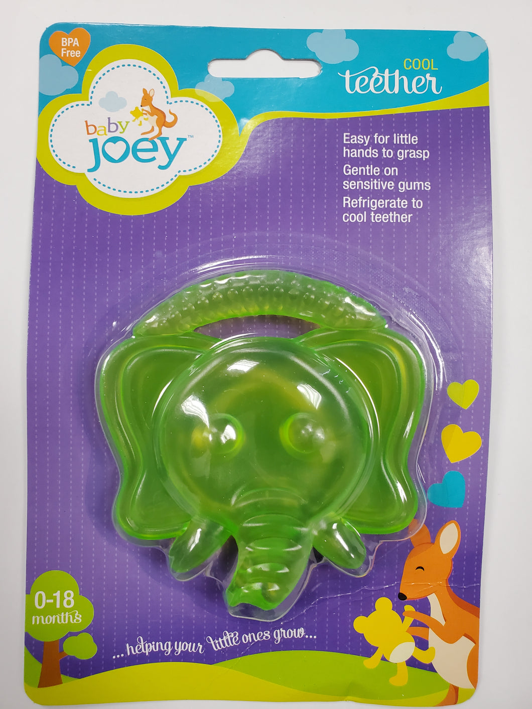 Green Baby Teether