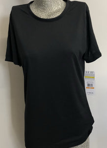 Women's Under Armour HeatGear Semi-Fitted T-Shirt Black NWT