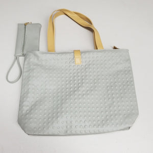 NIP Elegant Zip Tote with Organizer