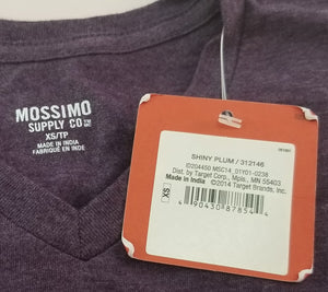 Mossimo Supply Co. Mens V-Neck T-Shirt