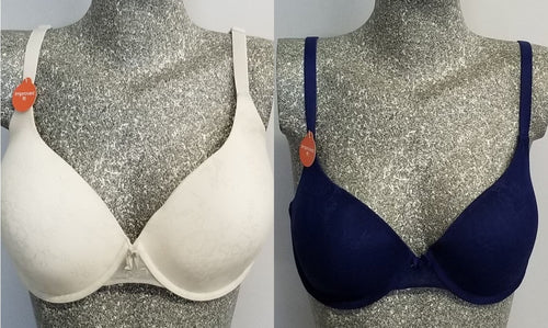 Gilligan & O'Malley Bras - lightly lined, lace covered