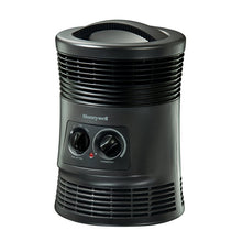Honeywell HHF360V 360 Degree Surround Fan Forced Heater with Surround Heat Output, Charcoal Grey