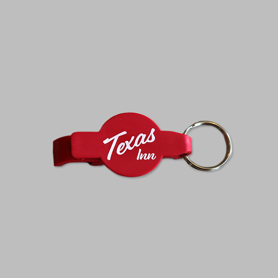 Texas Inn Keychain