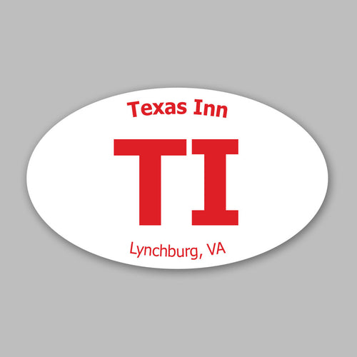 Texas Inn Sticker