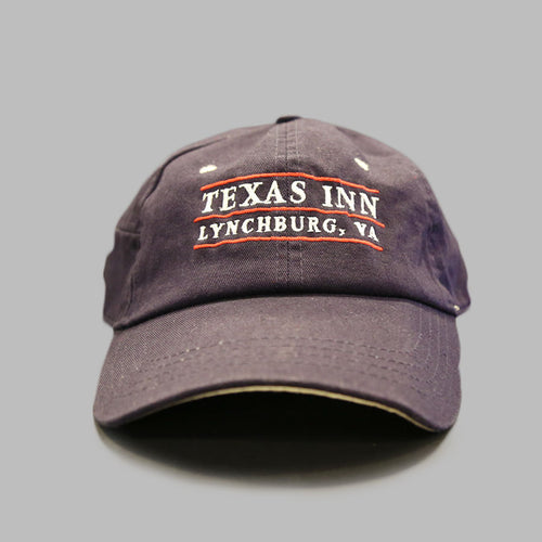 Dark Blue Texas Inn Baseball Cap