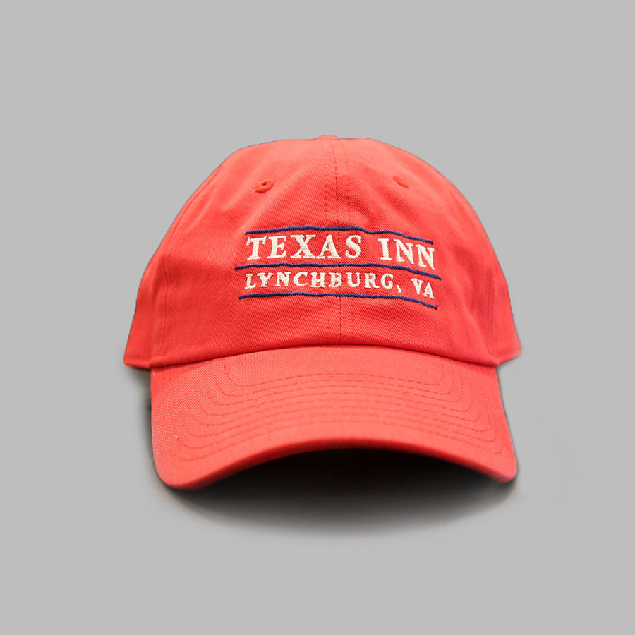 Red Texas Inn Baseball Cap - Texas Inn Store