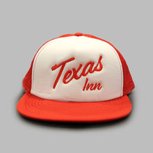 Load image into Gallery viewer, Texas Inn Logo Trucker Hat