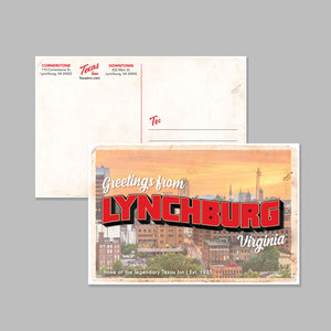 Texas Inn | Lynchburg, VA Postcard
