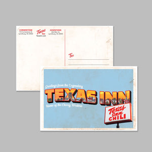 Texas Inn Postcard