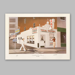 Herb Craft Autographed Print - Texas Inn Store