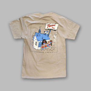 Gray Cartoon Shirt - Texas Inn Store