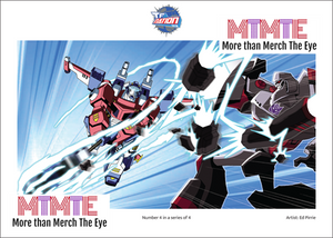 Transformers Animated Series 4 Print #4 (Limited Edition)