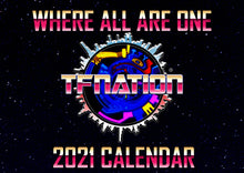 Load image into Gallery viewer, TFNation 2021 Calendar