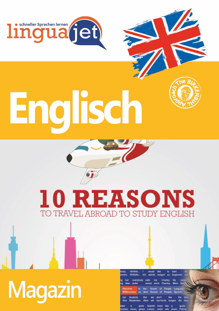 Englisch, Magazin, TeaTime - 10 Reasons to Travel Abroad to Study English, Cover