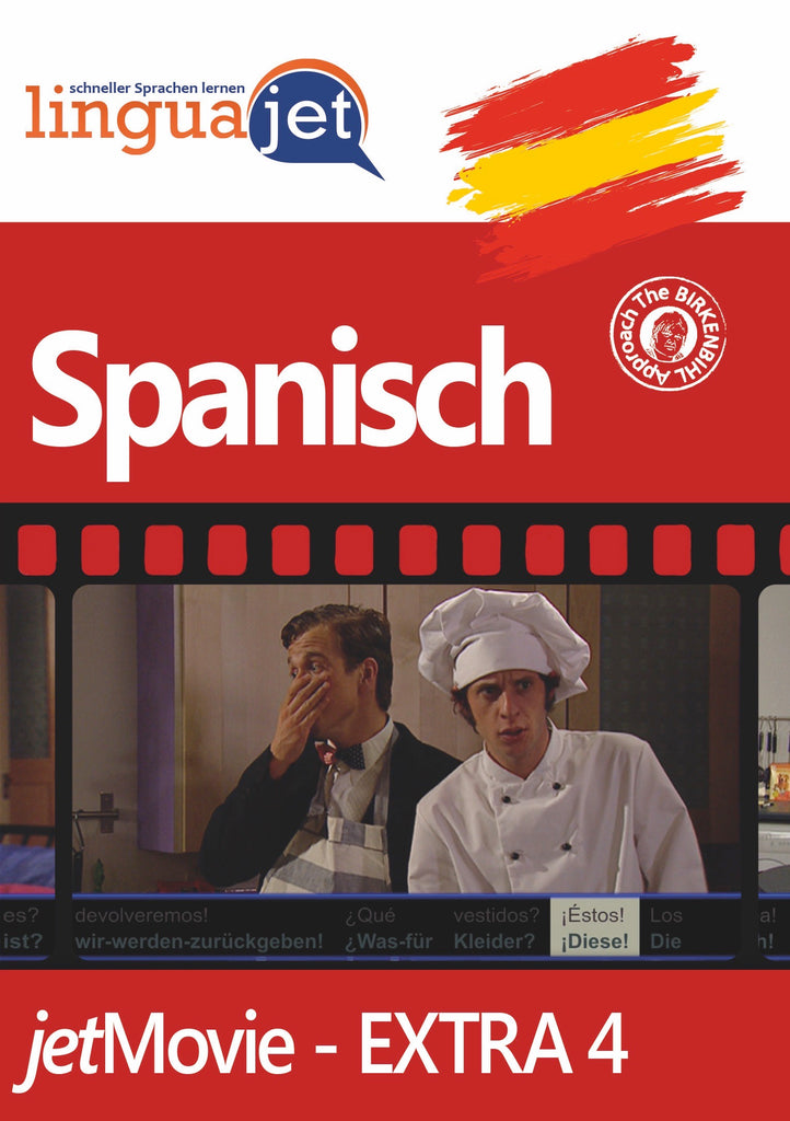 Spanisch, Extra-4, jetMovie, Cover