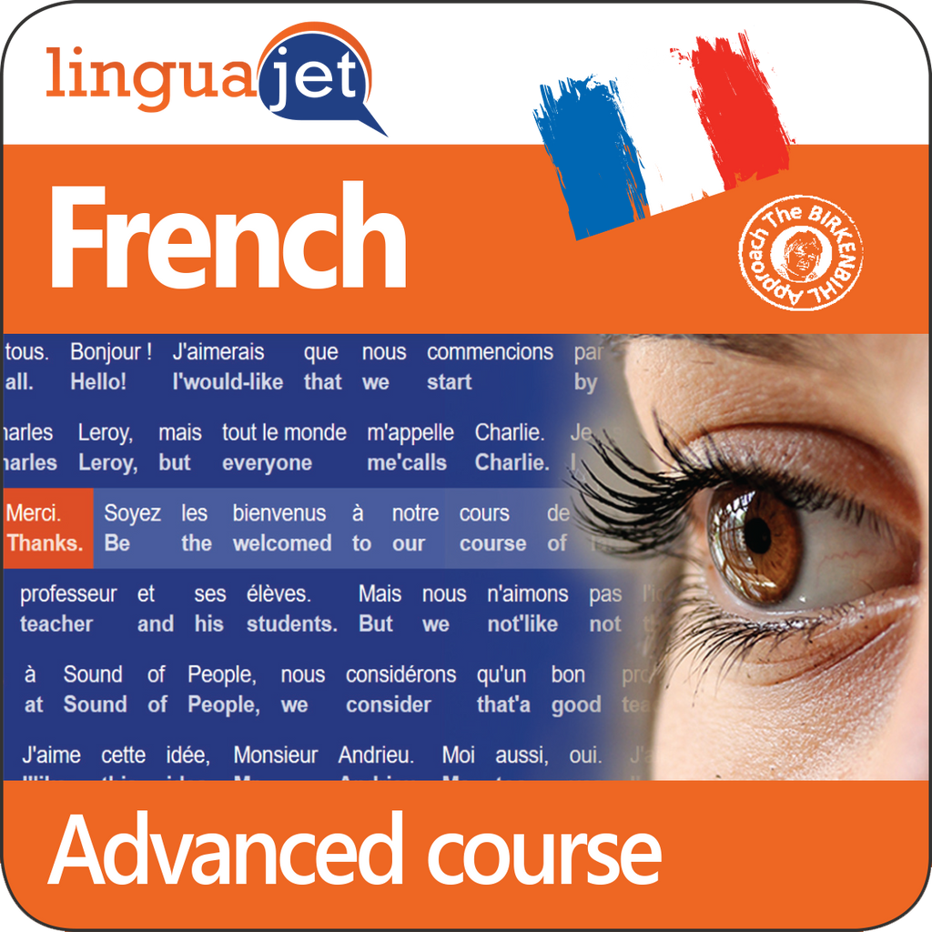 French, Advanced course, App