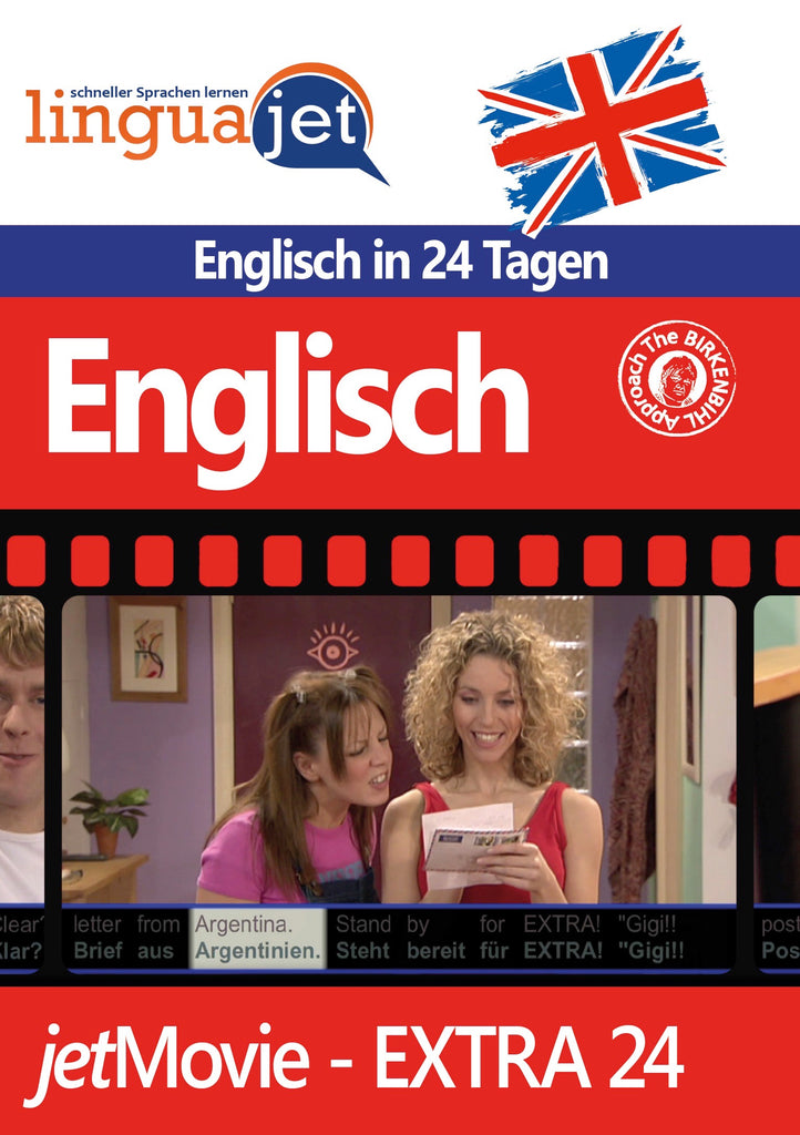 Englisch, 24 Tage, jetMovie, Cover