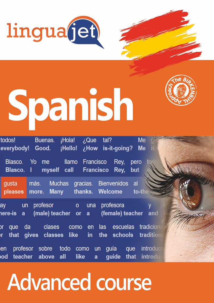 Spanish, Advanced course, Cover