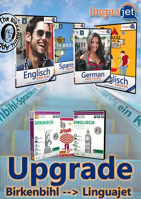 Upgrade auf Linguajet Software