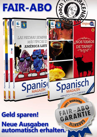 VeinteMundos, Spanisch, FAIR-ABO, Sprachen-Magazin, Linguajet