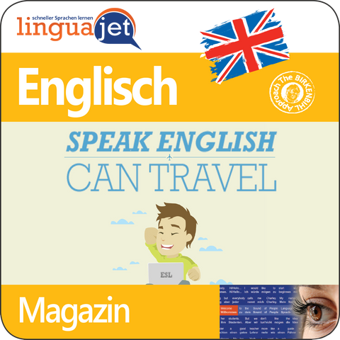 Englisch, Magazin, TeaTime - Speak English, Can Travel, App