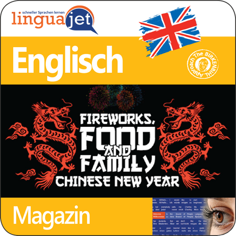Englisch, Magazin, TeaTime - Fireworks, Food and Family: Chinese New Year, App
