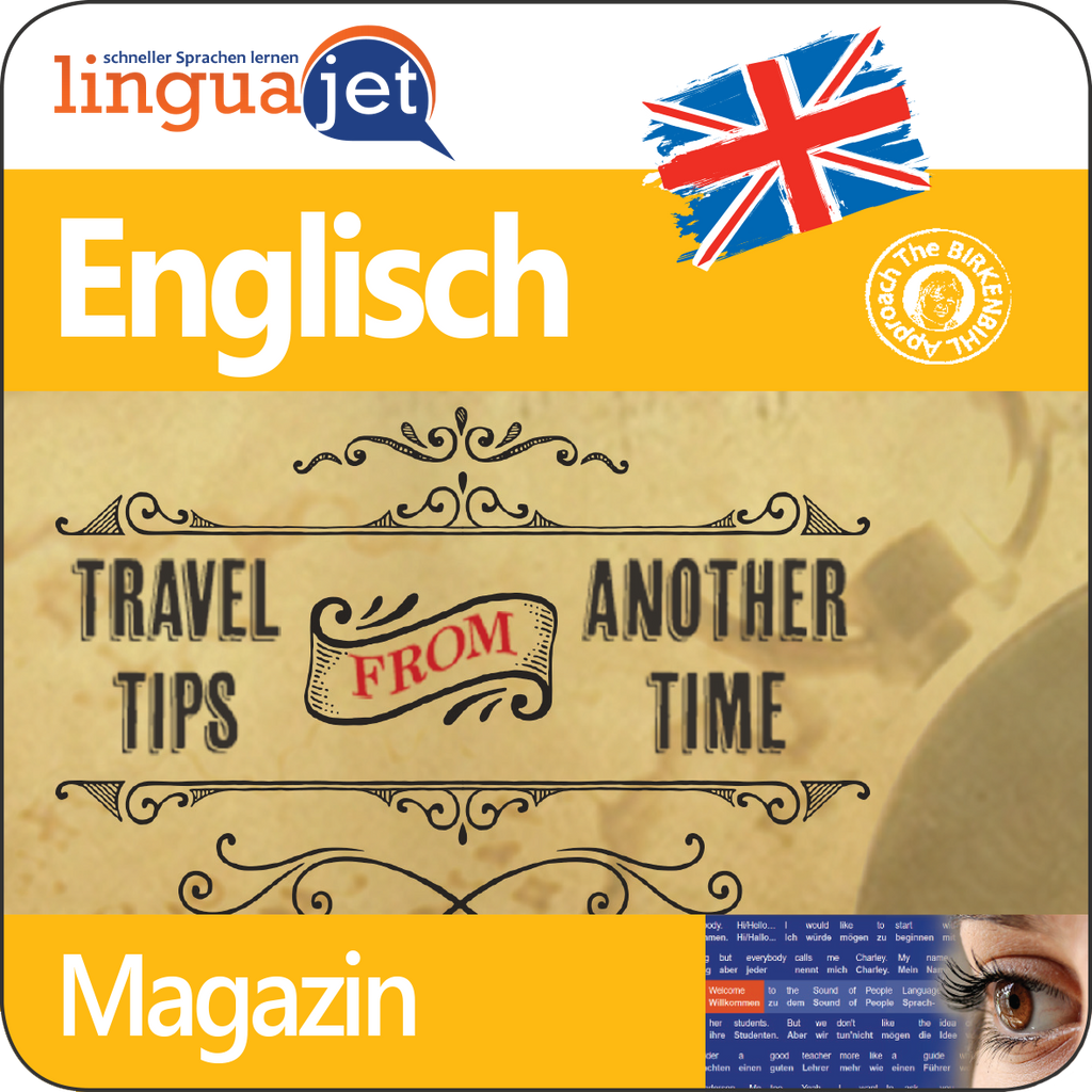 Englisch, Magazin, TeaTime - Travel Guide, App