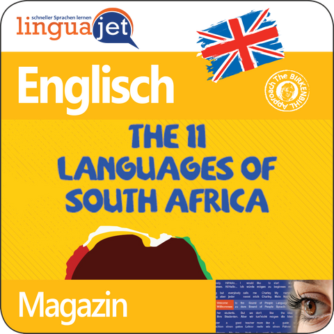 Englisch, Magazin, TeaTime - The 11 Languages of South Africa, App