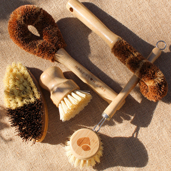 Natural Dish Brush Set