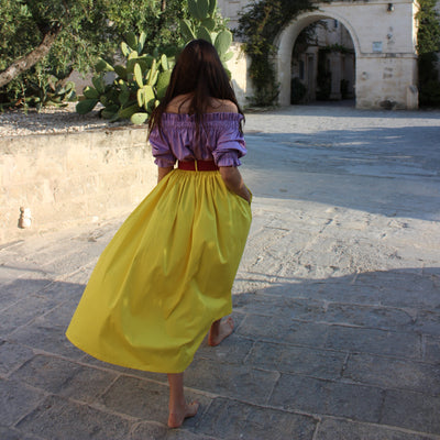 Marta Ferri Massaia Skirt Yellow
