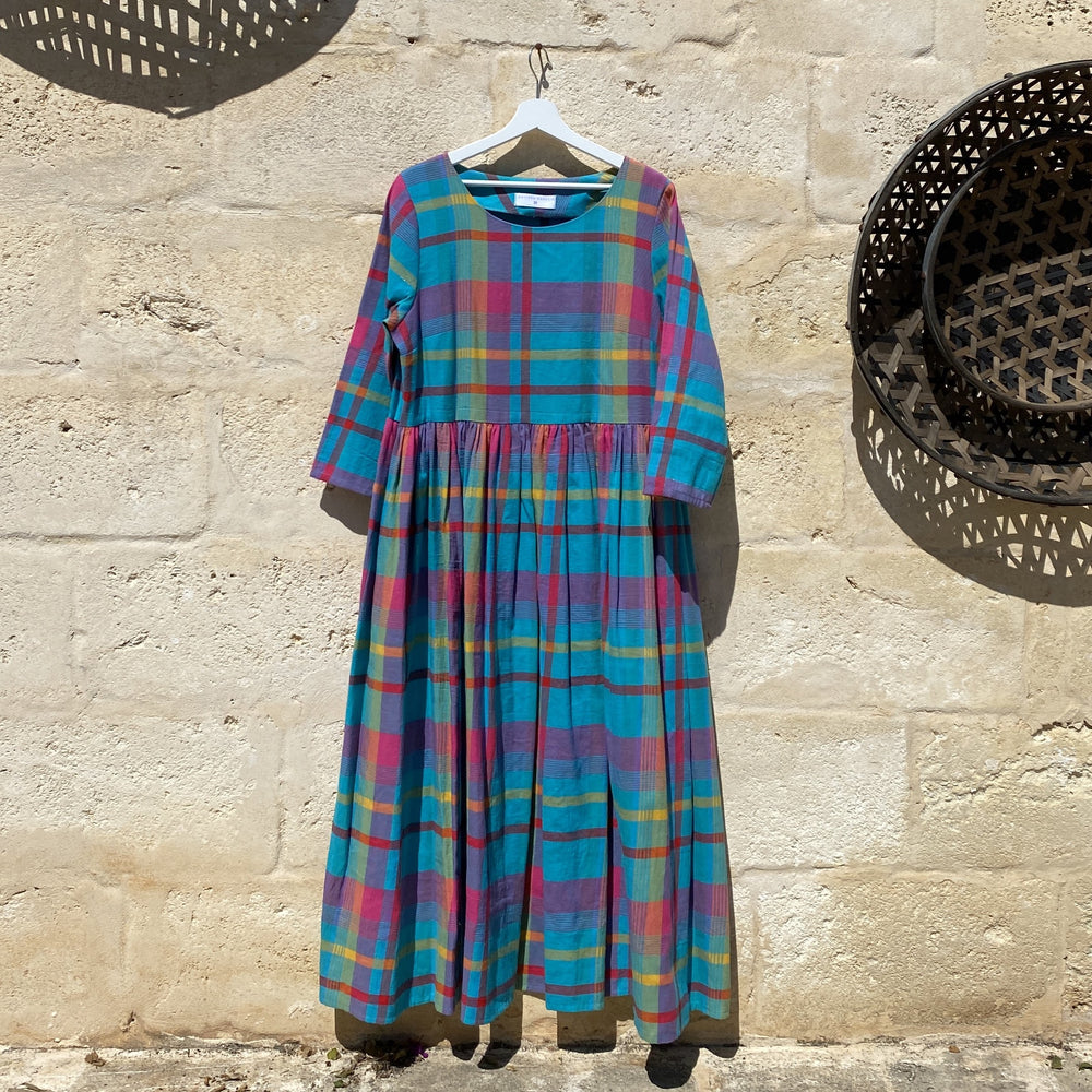 Claudia Dress in Vintage checks